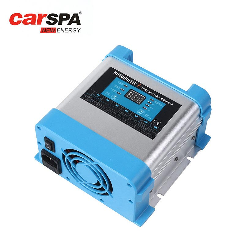 EBC1220-20A 12V Carspa 7 Stage Battery Charger Can Charge Li Battery