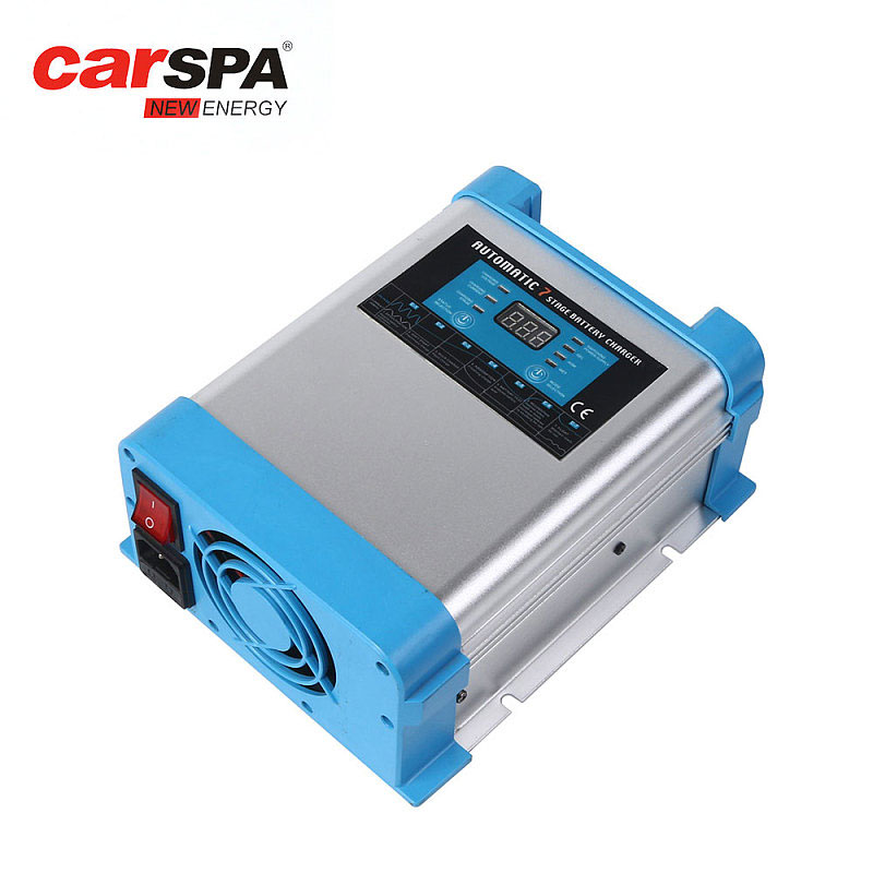 EBC2425-25A 24V Carspa 7 Stage Battery Charger With Digital Display
