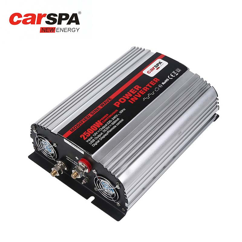 MS2500-2500 Watts Modified Sine Wave Car Power Inverter With USB Port