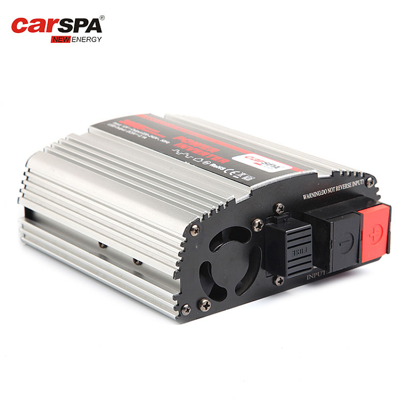 MS400-400w Carspa Silver White Car Use Inverter With LED Display Optional